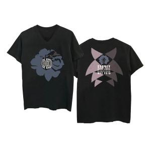 Sydney Opera House Black V-Neck T-shirt