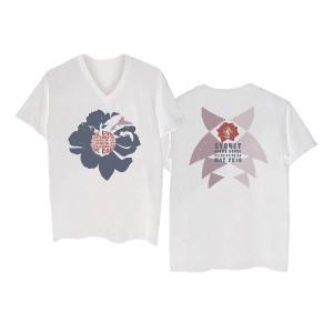 Sydney Opera House White V-Neck T-shirt