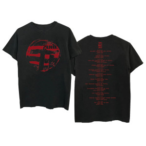 Eastern Red Logo Black T-Shirt
