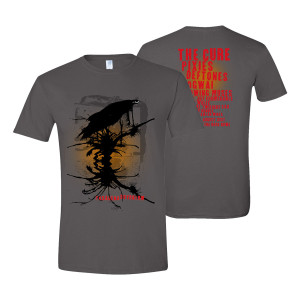 Pasadena Daydream Charcoal T-Shirt