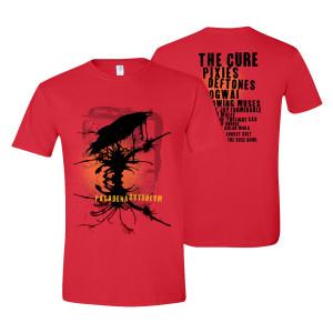 Pasadena Daydream Red T-Shirt