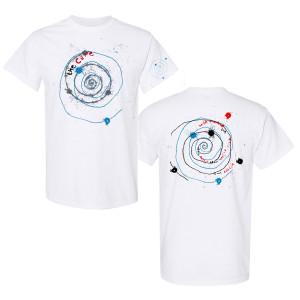 Austin White Spiral T-Shirt