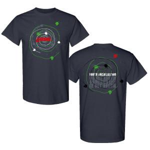 Mexico City Grey Spiral T-Shirt