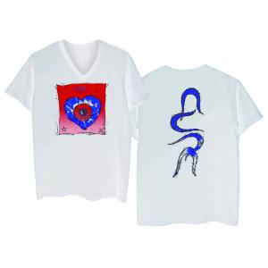 Friday I'm in Love White V-Neck T-shirt