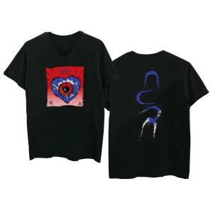 Friday I'm in Love Black V-Neck T-shirt