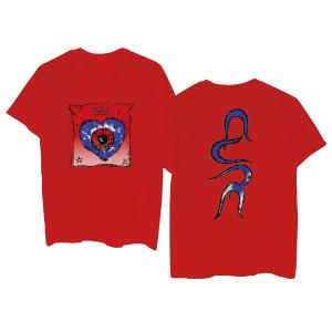 Friday I'm in Love Red V-Neck T-shirt