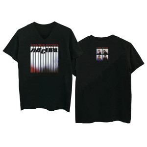 17 Seconds Black V-Neck T-Shirt