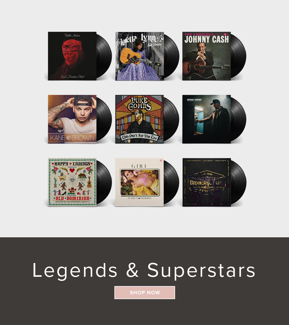 Shop Legends & Superstars