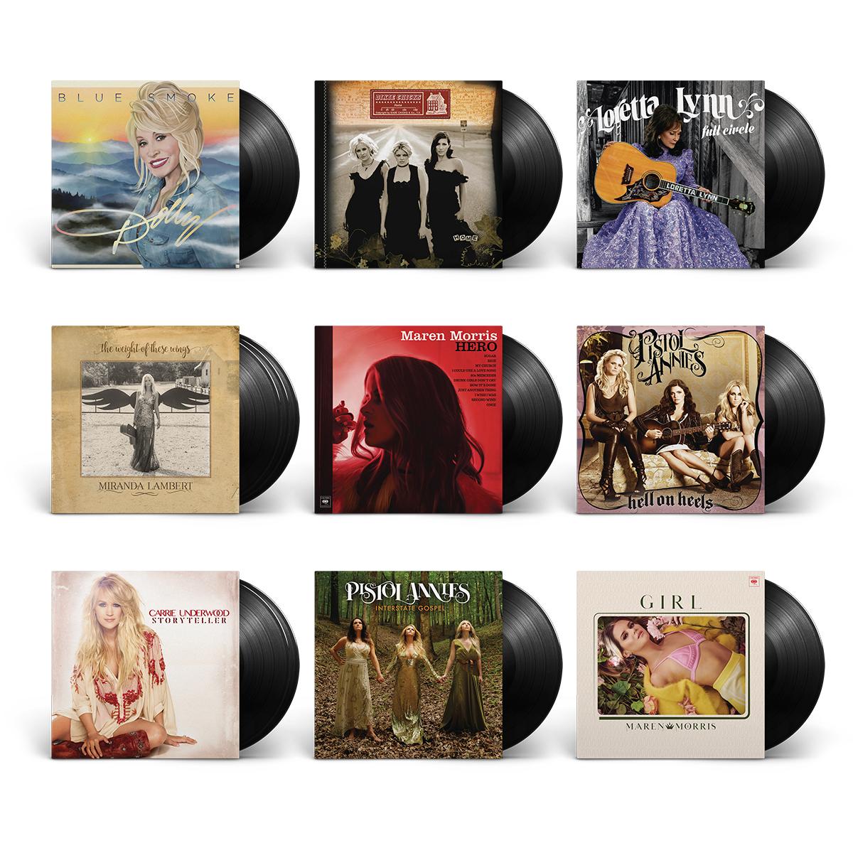 Country Women Vinyl Bundle