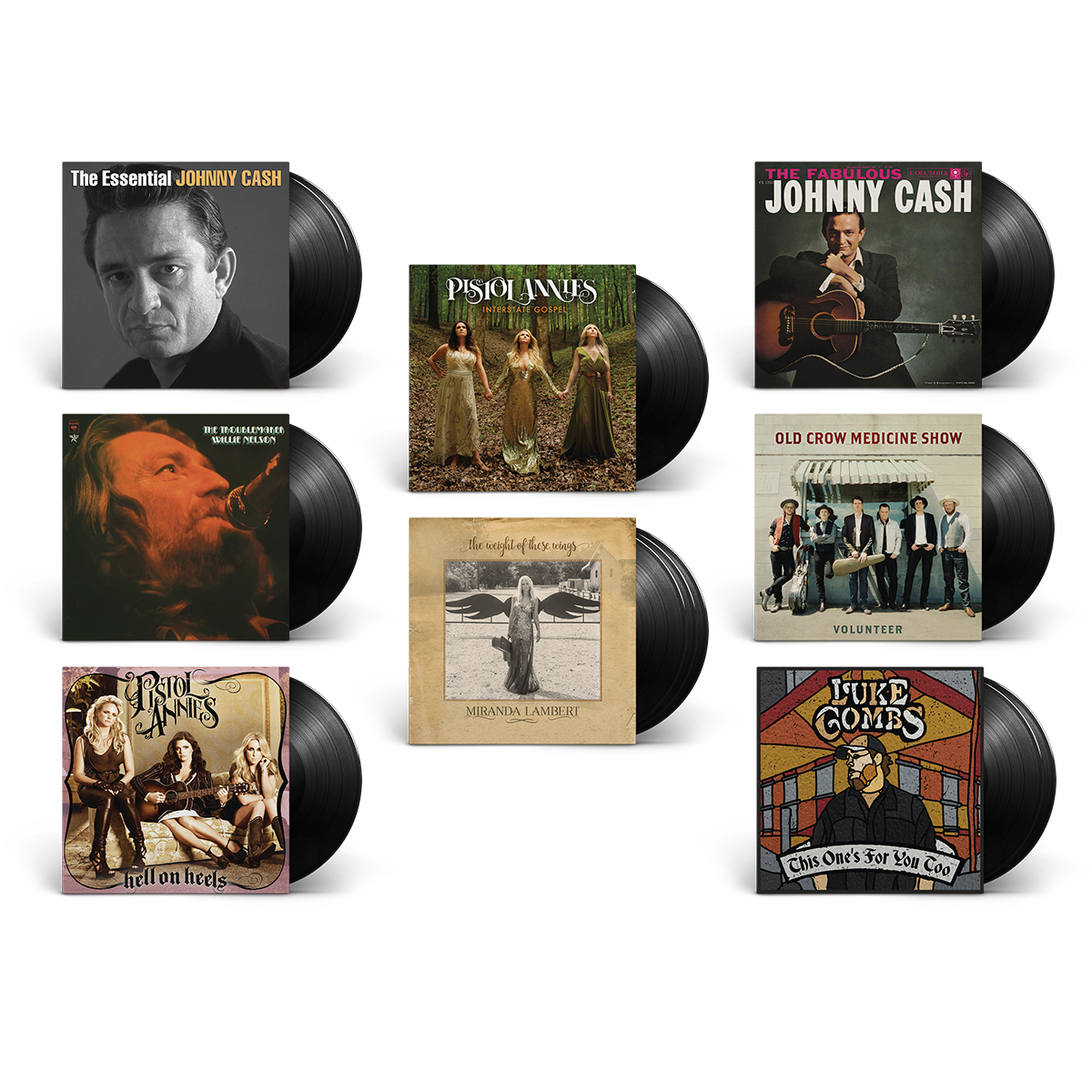 Outlaw Country Vinyl Bundle