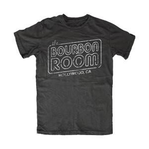 The Bourbon Room Logo Tee