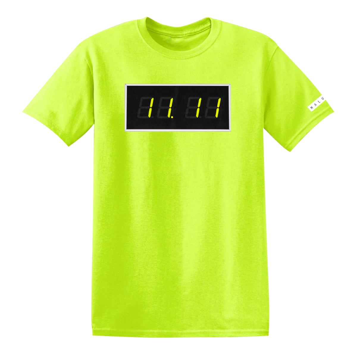 Camiseta del reloj Maluma 11:11