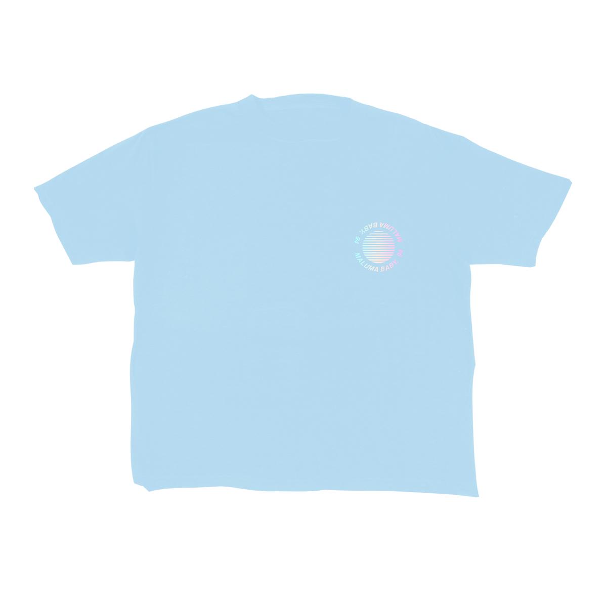 Camiseta Palma Azul