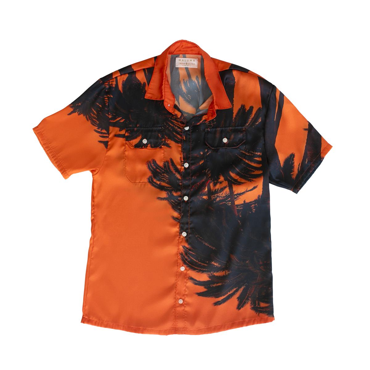 Camiseta Premium Naranja Atardecer