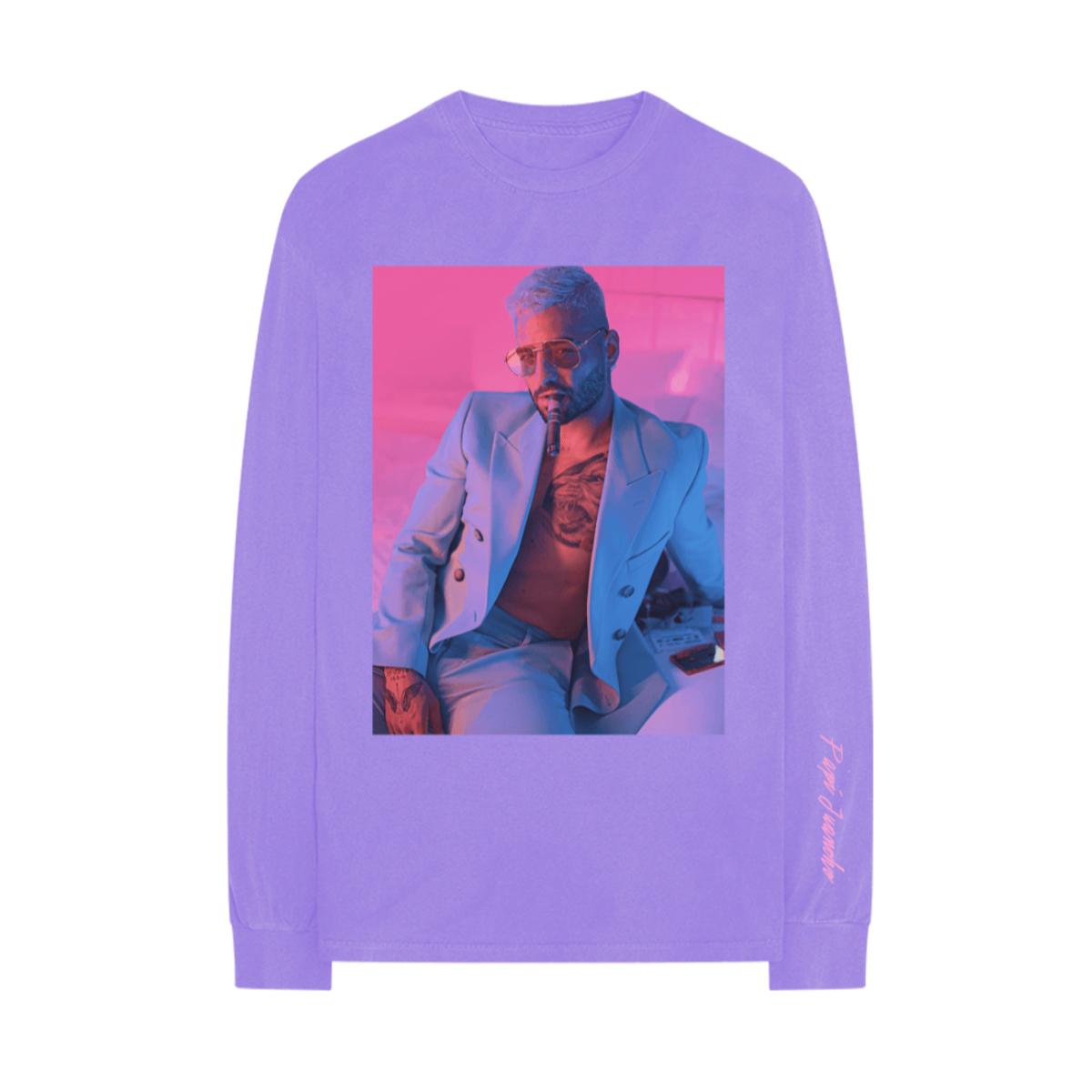 Papi Juancho Camiseta Fota Con Mangas Largas