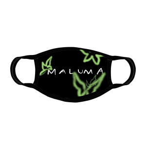 Mascarilla Negra Maluma - Alas