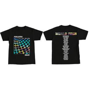 Maluma Gira Mundial camiseta - Iridiscente