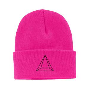 Maluma pirámide neón gorro rosa