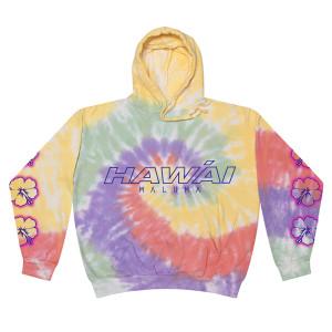 Hawái Sudadera Tie Dye