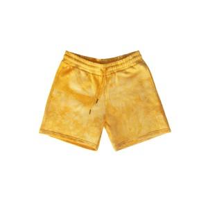 Shorts Dorados Teñidos