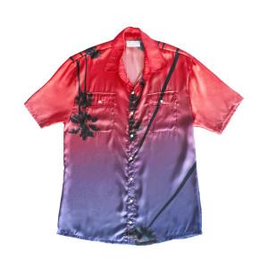 Camiseta Premium Rosa Palmera