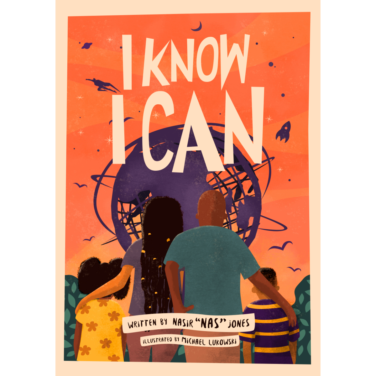 Nas Presents I Know I Can Book