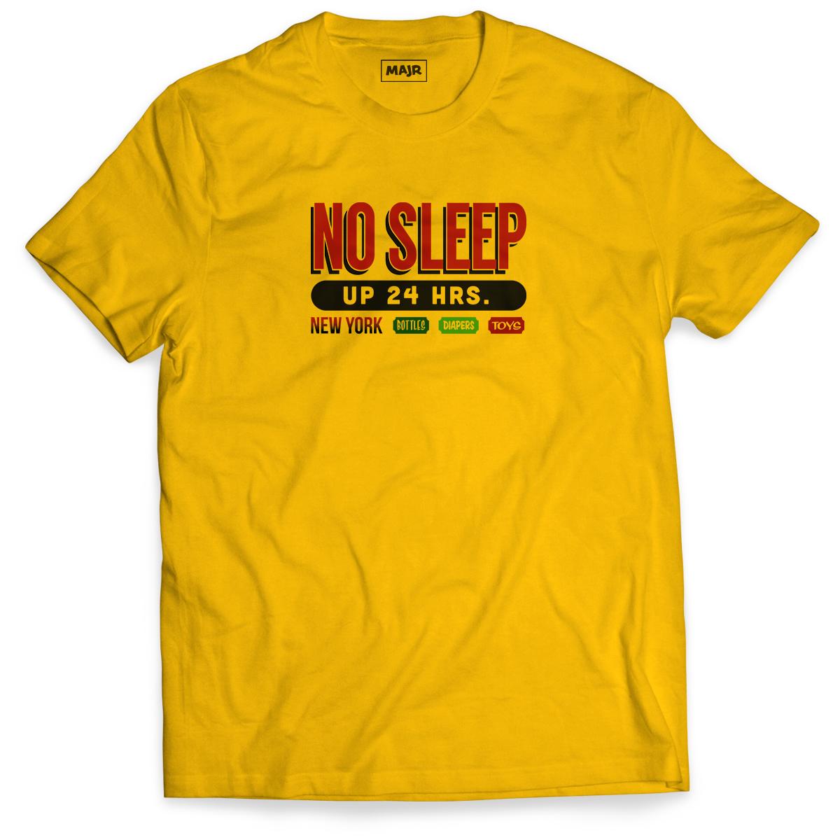 No Sleep Adult Tee