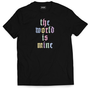 The World Is Mine Adult Tee
