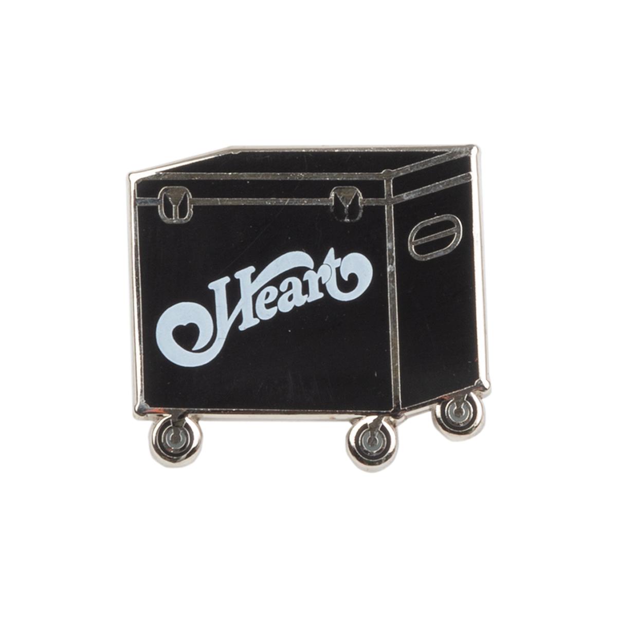 Heart Gig Box Pin