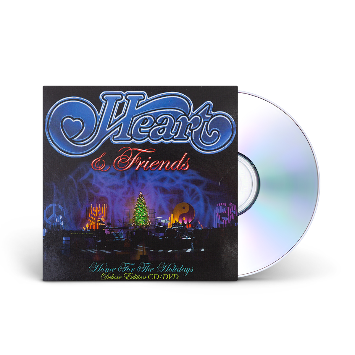 Heart & Friends Home for the Holidays CD