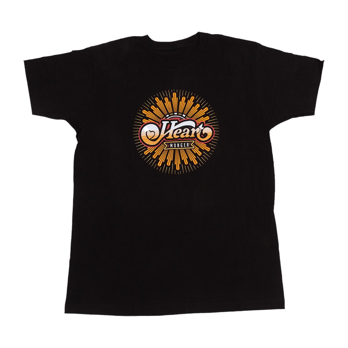 Gold Spinner Heart Monger T-Shirt