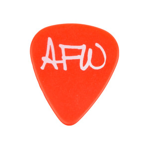 Heart AFW Guitar Pick