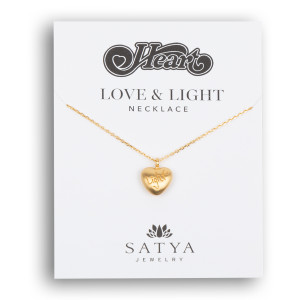 Heart Love & Light Necklace
