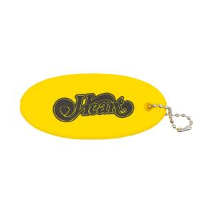 Heart Yellow Foam Key Chain