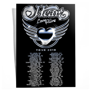 Chrome Heart Love Alive Lithograph
