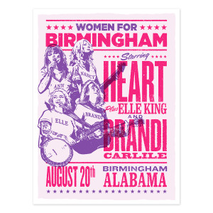 Women for Birmingham Signed Lithograph
