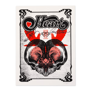 Music=Love Tour Poster Signed by Heart