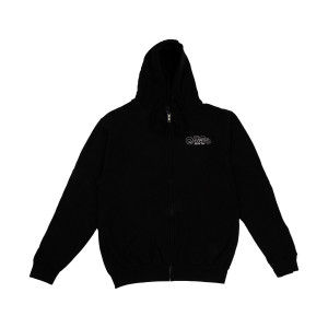 2016 World Tour Black Zip Hoodie