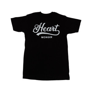 Heart Monger Black Unisex T-Shirt