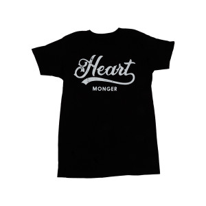 Heart Monger Logo Black Ladies T-Shirt