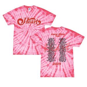 Dateback Pink Tie Dye T-Shirt