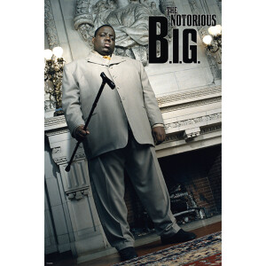 The Notorious B.I.G. Unframed Poster