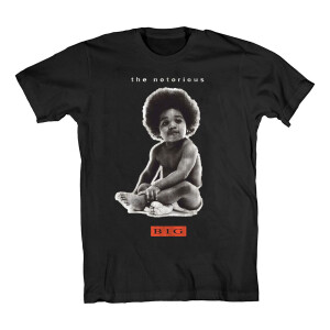 Biggie Notorious Baby Black T-Shirt