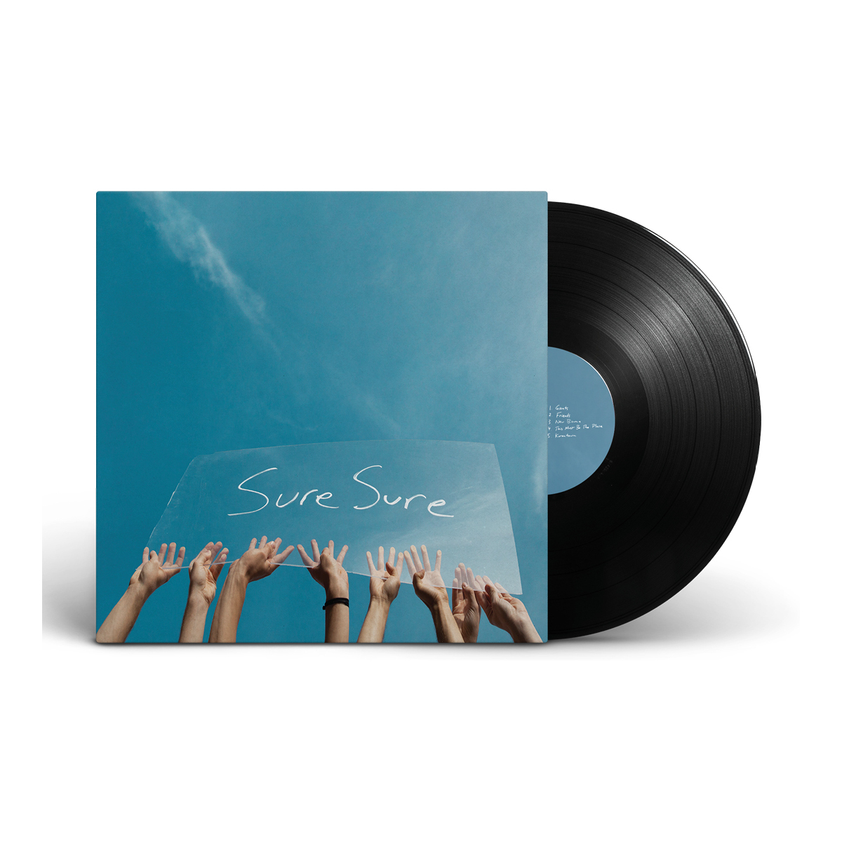 Sure Sure - Sure Sure Signed Vinyl Record