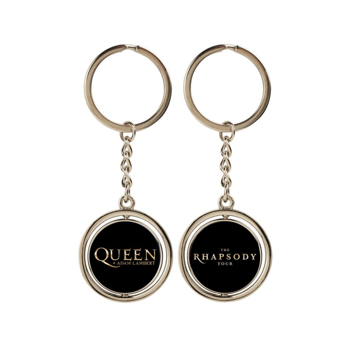 Rhapsody Tour Spinning Keychain