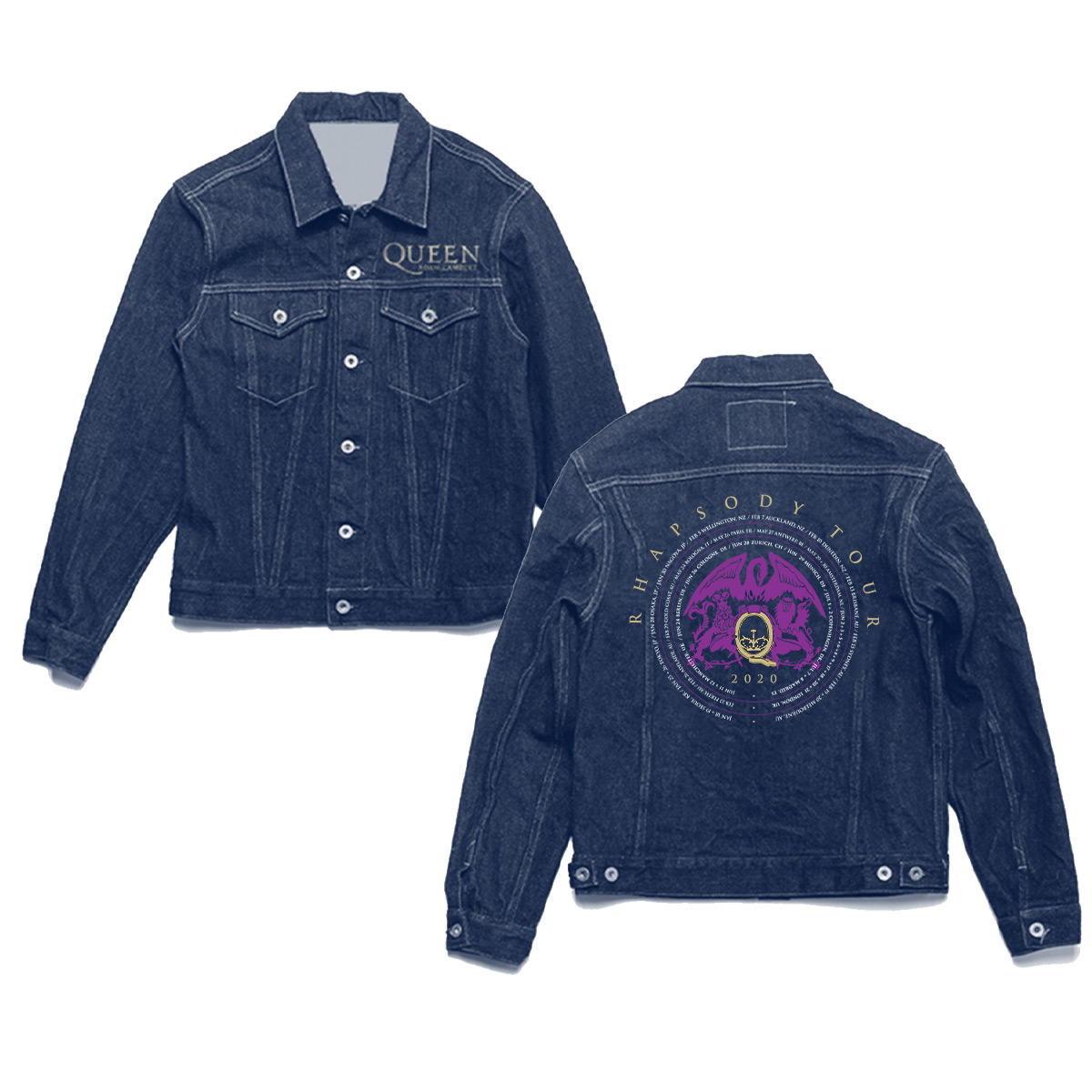 2020 Dateback Denim Jacket