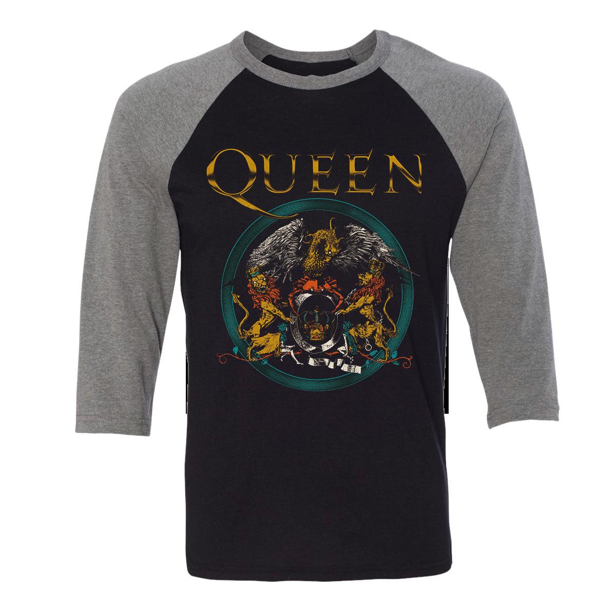 Queen Crest Raglan