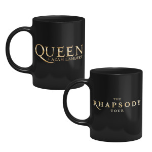 Rhapsody Tour Black Mug