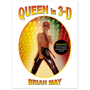 Queen in 3-D Book by Brian May