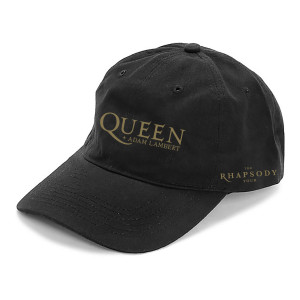 Queen + Adam Lambert Black Dad Hat